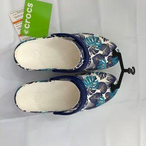2216c00a20da7 crocs Shoes - Crocs Calypso Blue Design